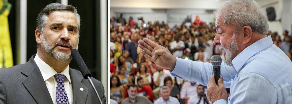 Pimenta: Lula será o candidato do PT à presidência