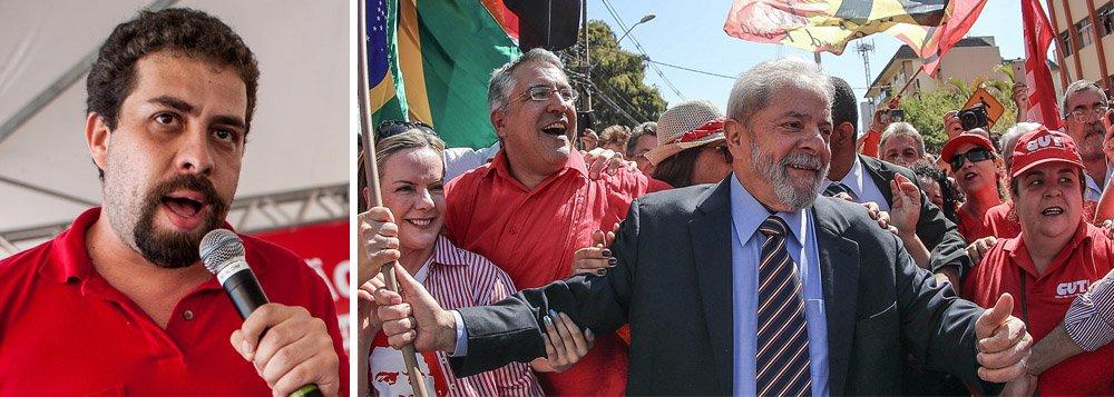 """Boulos: """"dia 24 vamos tomar as ruas pela democracia"""""""
