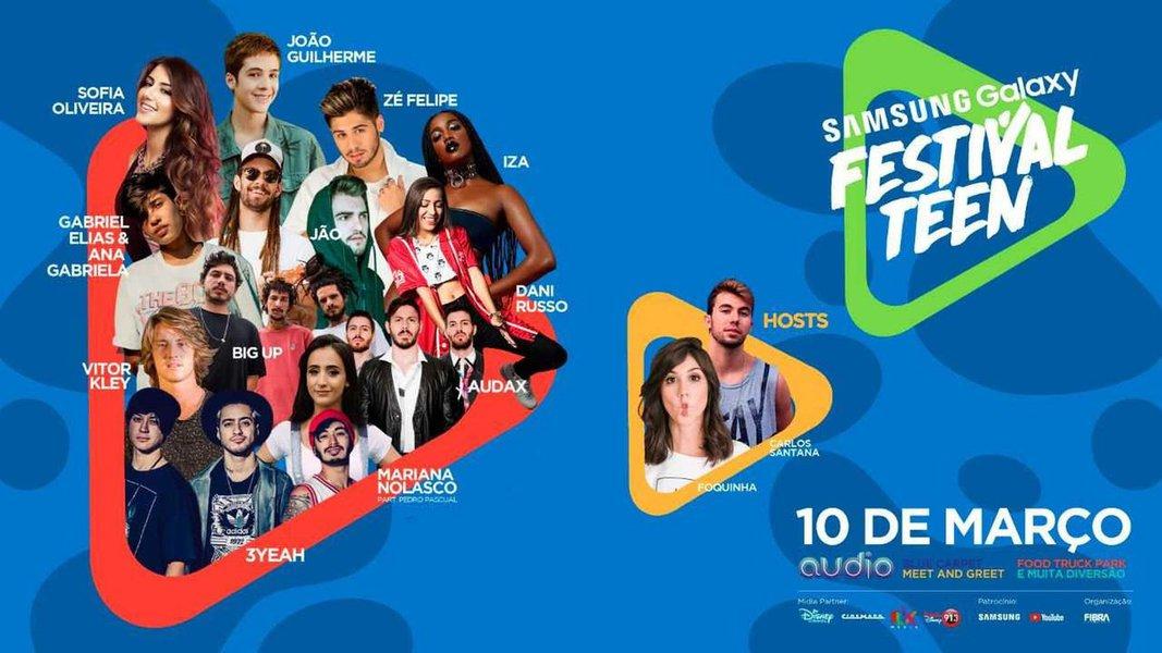 Samsung anuncia Samsung Galaxy Festival Teen