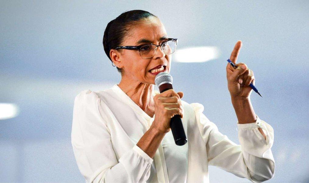 Marina diz que rejeição à corrupção norteará campanha