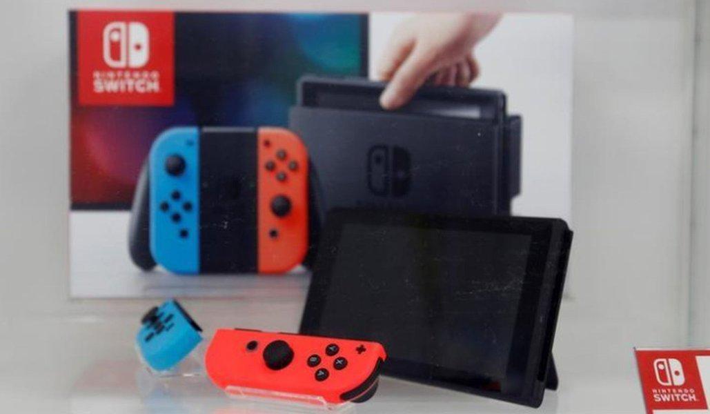 Nintendo tem melhor 3ºtri em oito anos, impulsionada por vendas do Switch