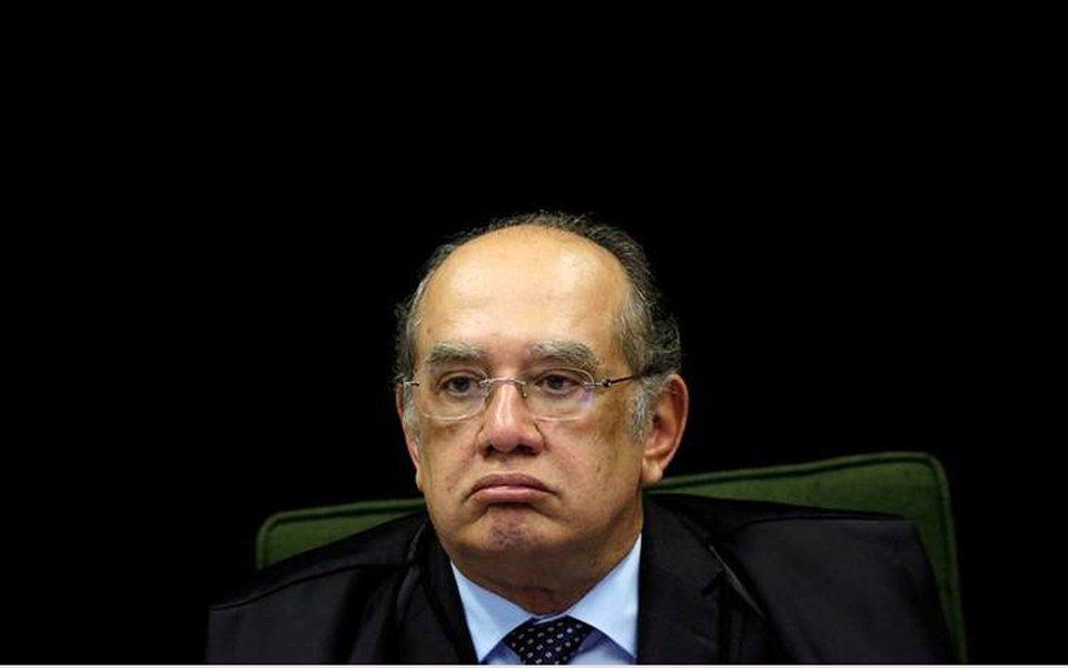 Gilmar manda editor da Folha enfiar pergunta na bunda