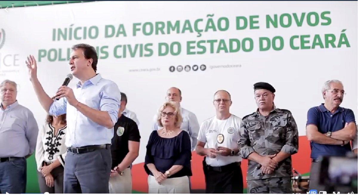 Camilo reafirma que segurança é prioridade do seu governo