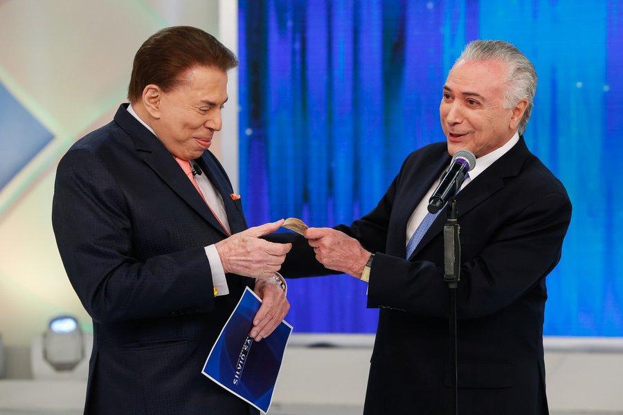 Temer dá dinheiro a Silvio Santos para tomar sua aposentadoria