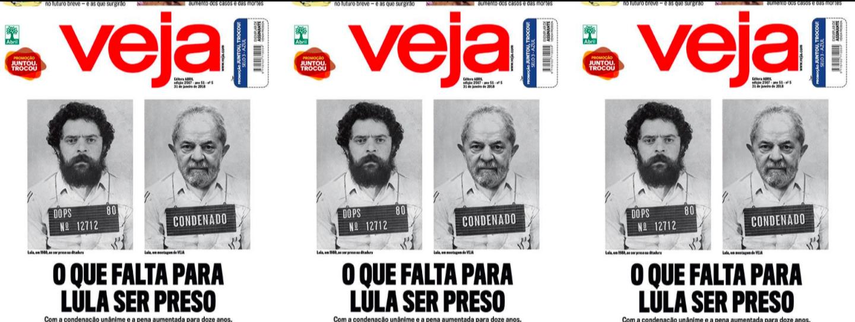 Veja se revela na capa: novo Dops quer prender Lula