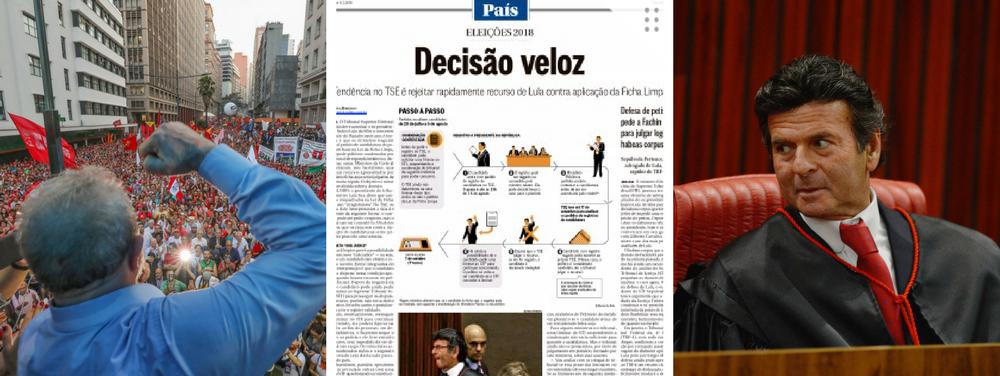 """Globo antecipa """"tendência do TSE"""" contra Lula"""