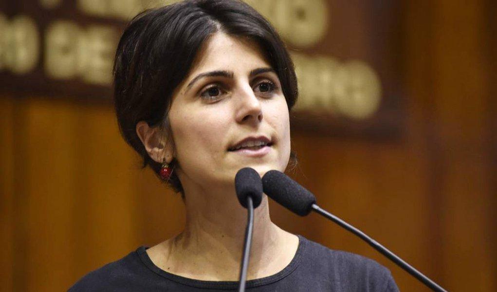 Manuela denuncia perseguição a militantes do movimento social