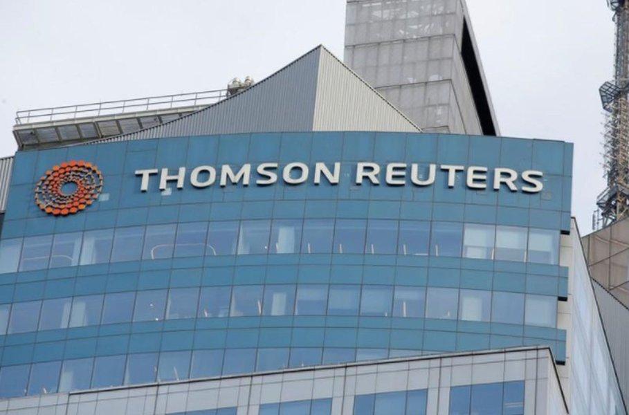 Lucro da Thomson Reuters supera estimativas, mas receita fica aquém