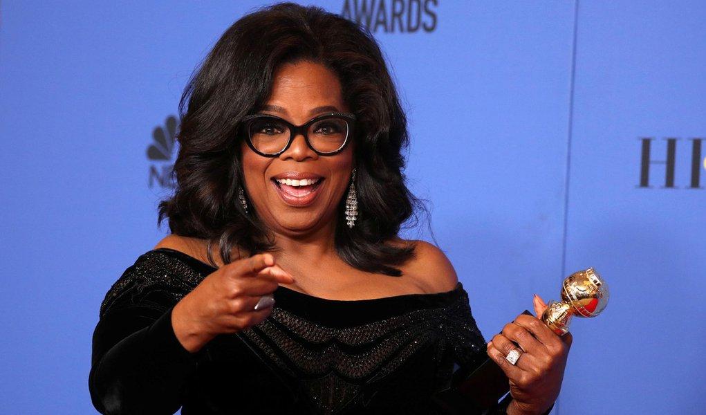 Oprah venceria Trump em disputa presidencial, diz pesquisa