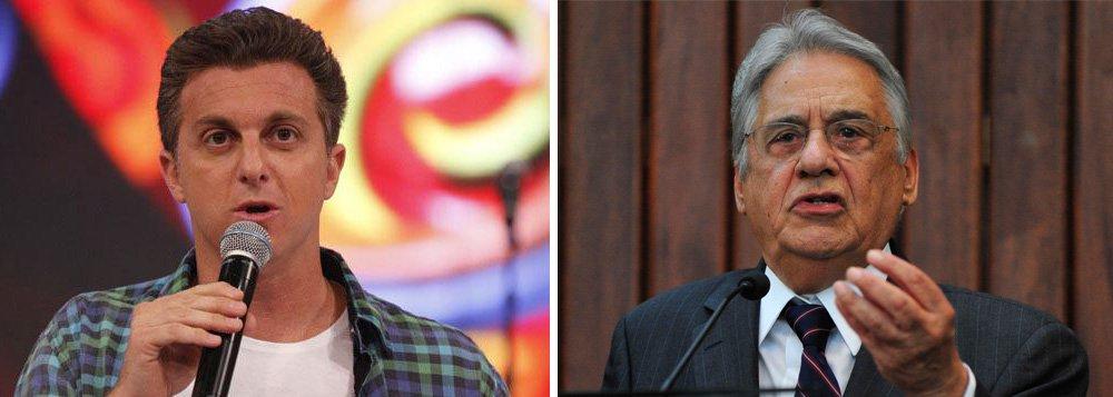 Huck e FHC discutem candidatura hoje em SP, diz Merval