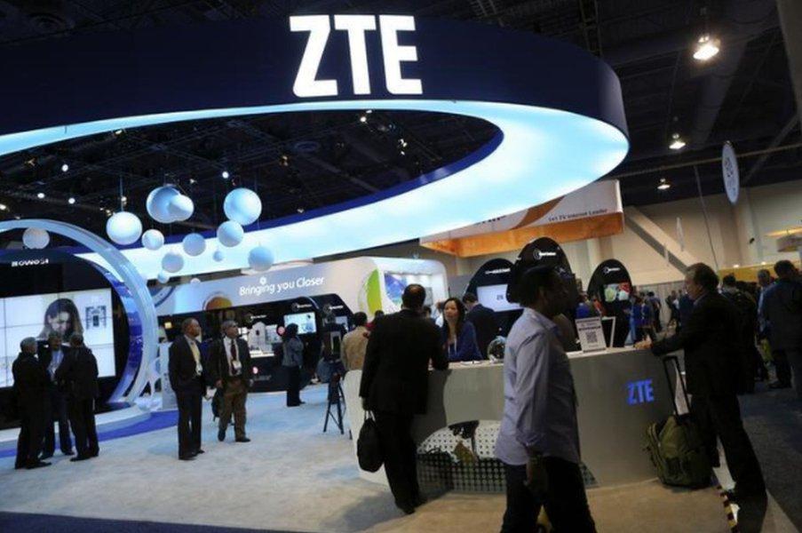 Chinesa ZTE diz ser parceira confiável após preocupações dos EUA