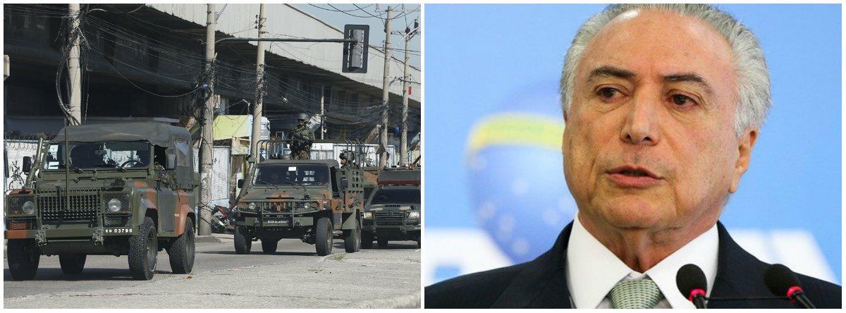 DCM: Sem descanso, a GloboNews põe suas tropas para defender a intervenção militar no RJ