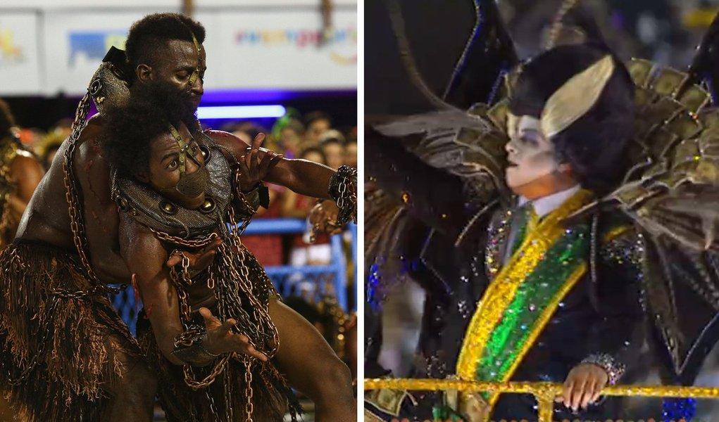 Carnaval da Tuiuti bomba nas redes e lidera buscas entre escolas de samba