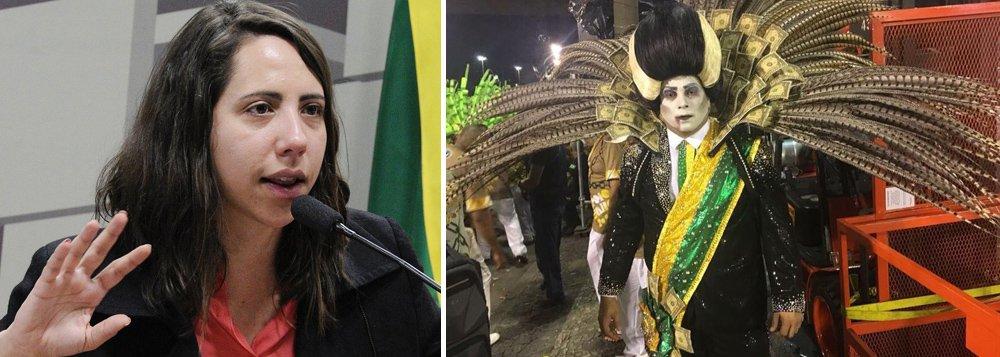Desfile da Tuiuti escancarou o que está nas pesquisas de opinião, diz Laura Carvalho