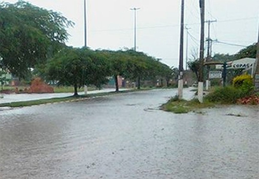 Sistema de sensores faz alerta contra inundações