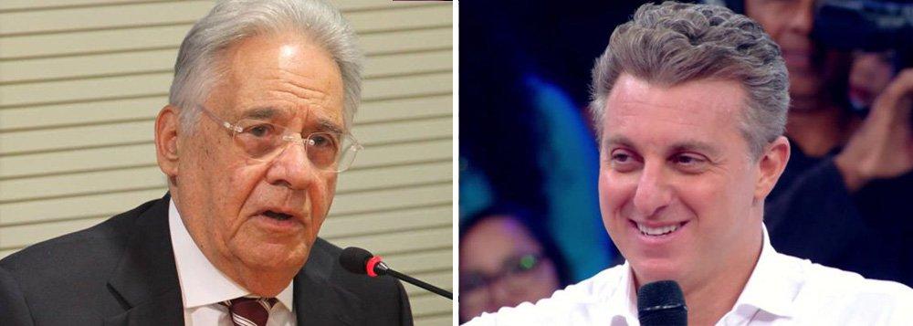 Simpatia de FHC por Huck desmacara mito de estadista, diz Marcelo Coelho
