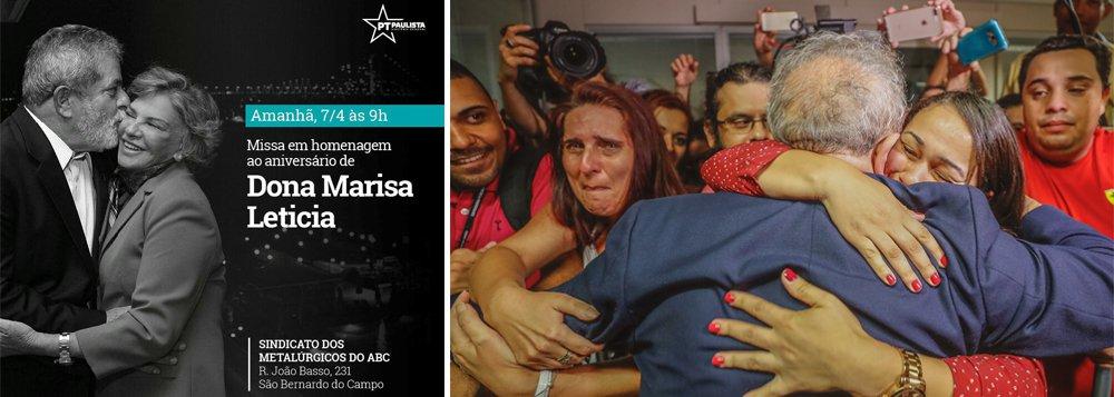 Lula pode ser preso após a missa em homenagem a Marisa Letícia