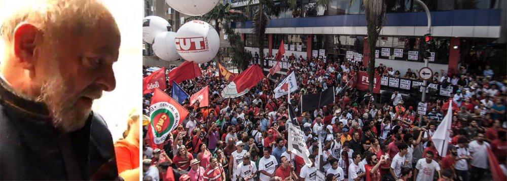 Lula vai ao STF para barrar prisão ilegal