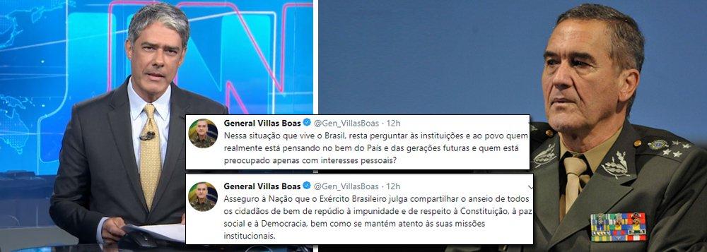O tuíte do General Villas Boas e a defesa da democracia
