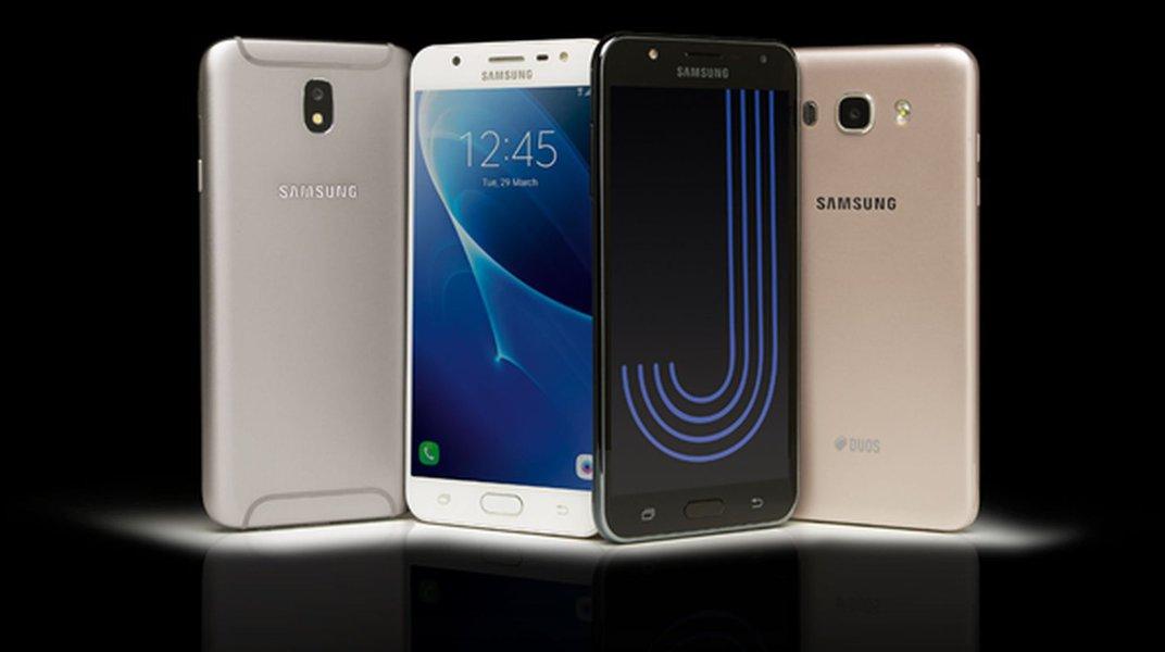 Samsung: Família Galaxy J é a mais vendida em 2017