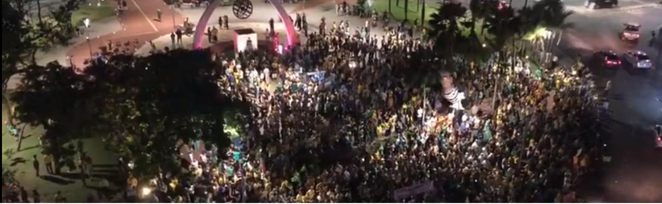 'Protestos pela prisão de Lula fracassam em todo o Brasil, incluindo Fortaleza