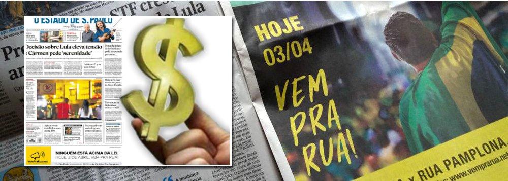 """Tijolaço: Quem paga os anúncios da """"manifestação espontânea""""?"""