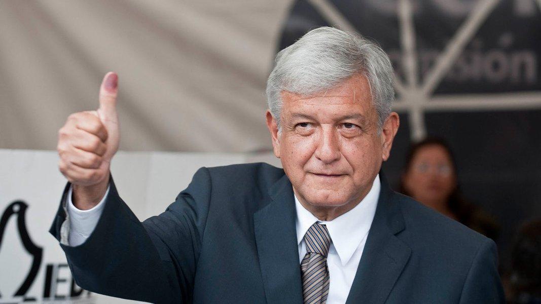 Candidato de esquerda amplia vantagem para 18 pontos em eleição do México