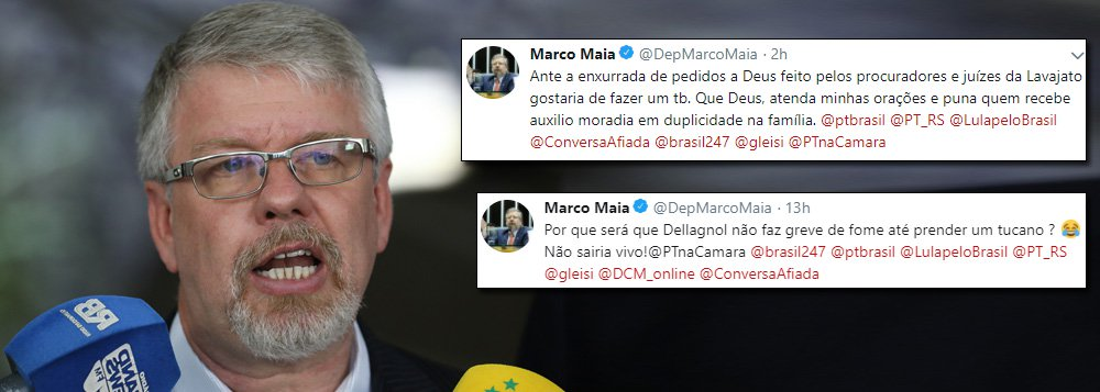 Marco Maia questiona 'jejum' e 'orações' do Judiciário pela prisão de Lula