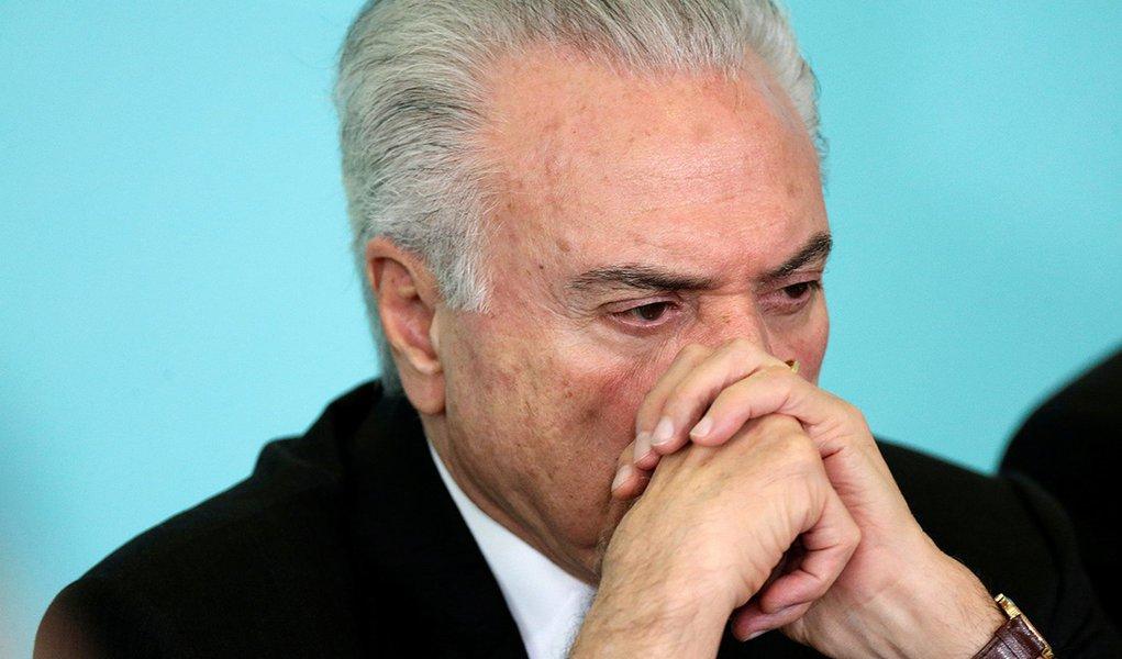 """""""Reeleição"""" de Temer vira piada de mau gosto"""