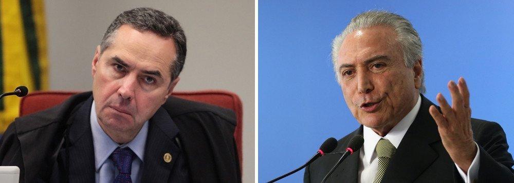 Estado judicial tenta avançar e Barroso é sua vanguarda