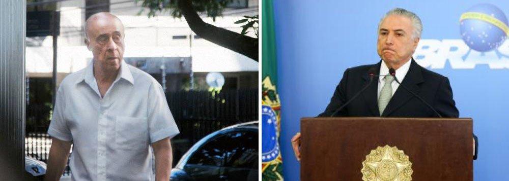 PF acha ligação direta entre propinas do coronel Lima e Temer