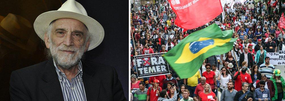 Alex Solnik: frente antifascista tem que englobar todos que condenam a extrema-direita