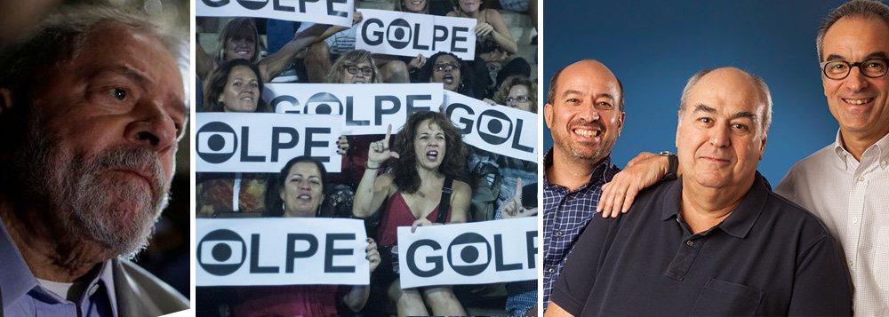 Globo, que incitou golpe e ódio a Lula, agora vê democracia em risco