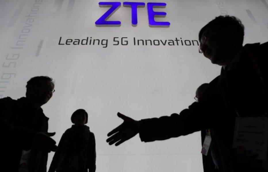 China pede para EUA reverem proibição de venda de componentes para a ZTE