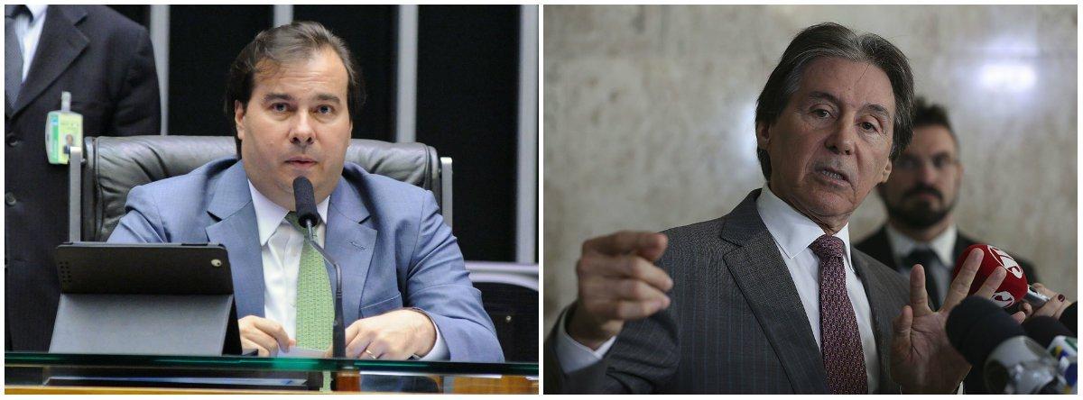 Presidentes da Câmara e do Senado condenam tiros contra caravana de Lula