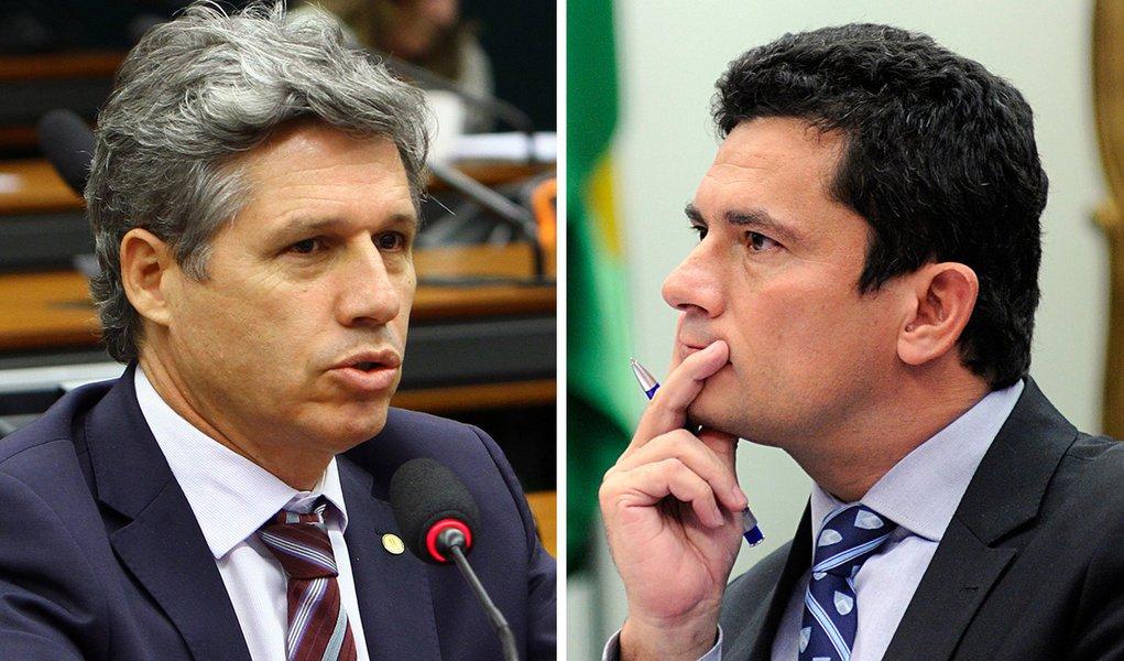 Teixeira: 'rasgar a Constituição é o exercício matinal de Moro'