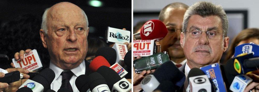 STF rejeita denúncia contra Jucá e Gerdau