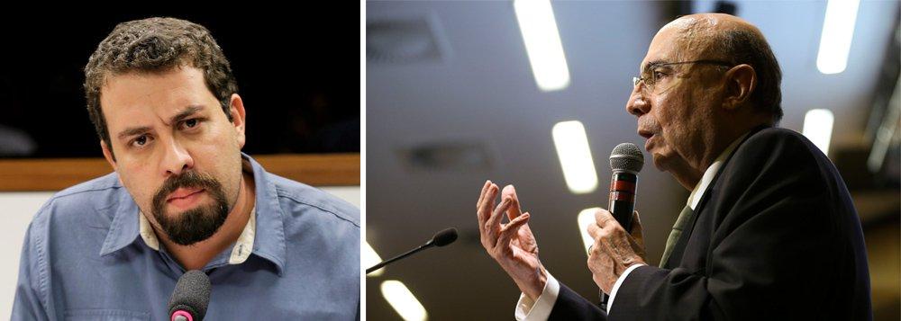 Boulos: quero ver Meirelles candidato defendendo congelamento de gastos