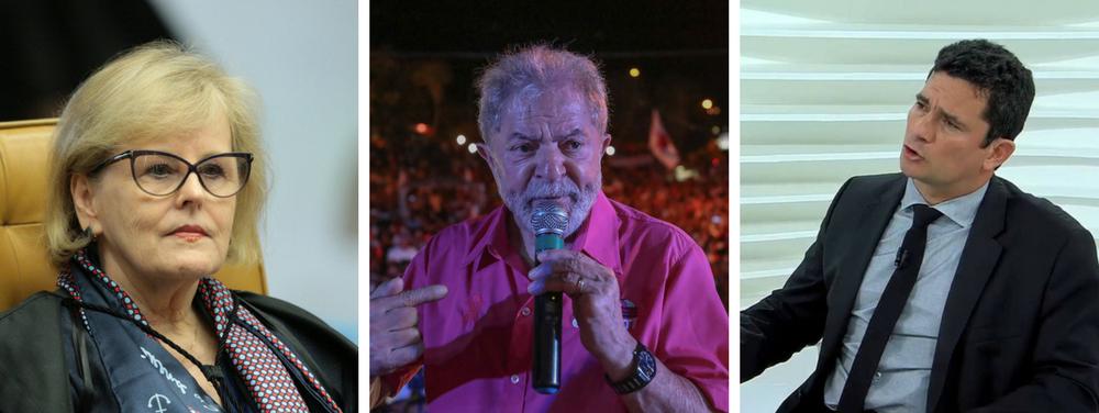 Moro pressiona Rosa Weber a votar contra Lula