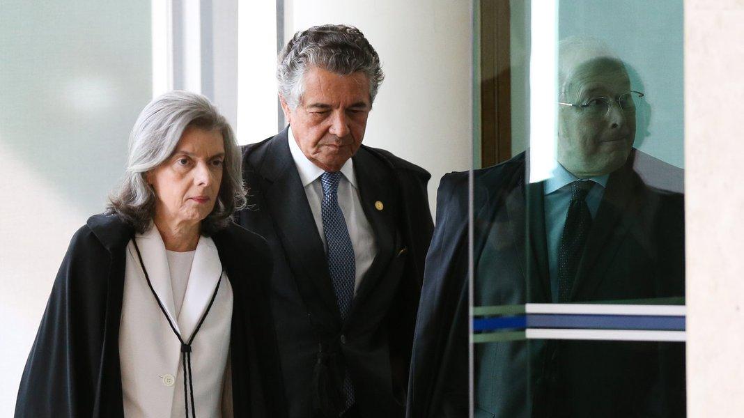 Marco Aurélio culpa Cármen Lúcia pelo desgaste do STF
