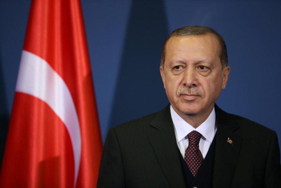 Presidente turco acusa Ocidente de agressão ao longo de toda a história