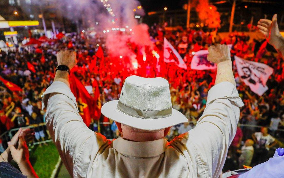 A caravana trouxe democracia e deixou o fascismo para trás