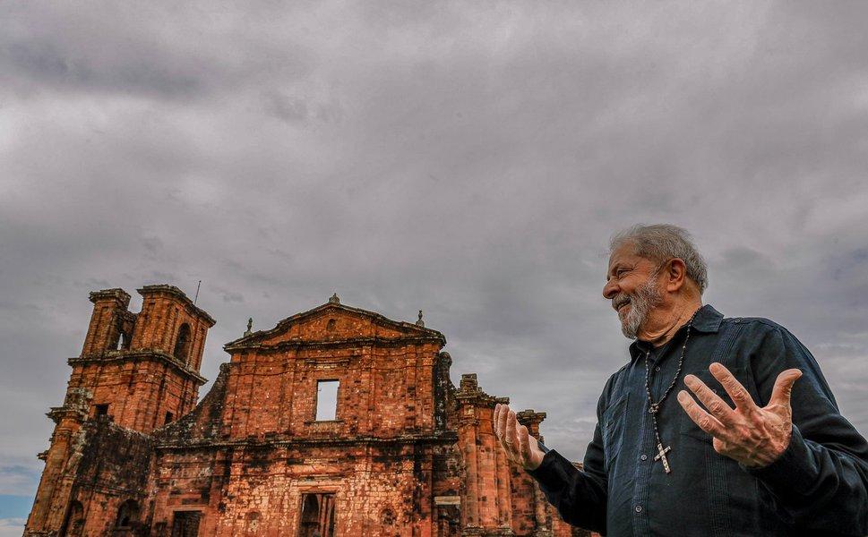 Lula: estou com a tranquilidade dos inocentes
