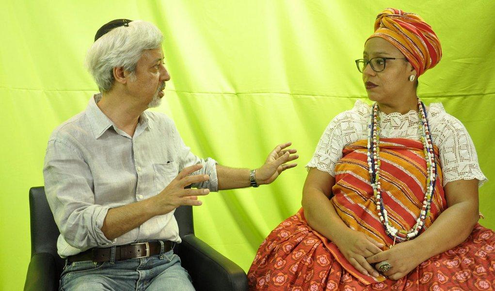 TV 247 debate religiões contra o racismo