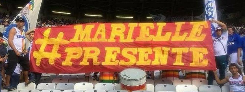 Manifestações em homenagem a Marielle são proibidas em estádios