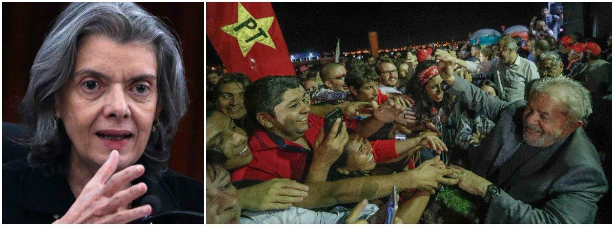 Cármen manobrou para derrotar Lula e a maioria do próprio STF