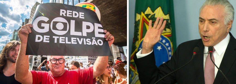 Reforma da Previdência: Globo levou 1/3 dos milhões que Temer gastou