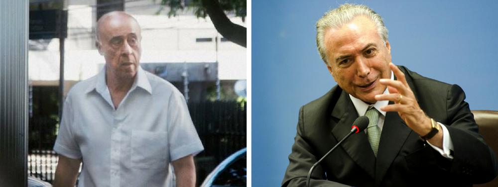 Registro de reuniões liga Temer e coronel a esquema de propina em Santos