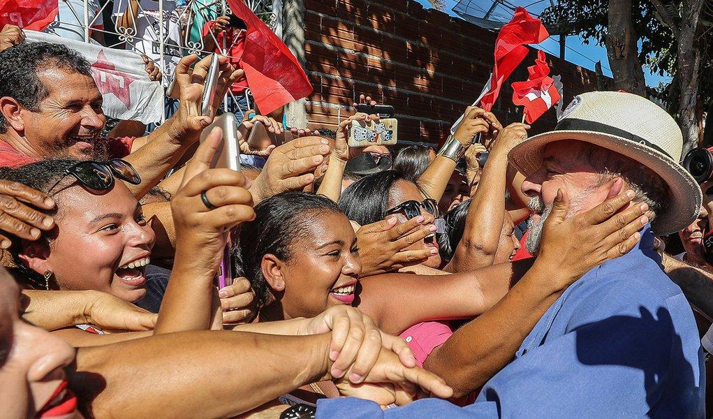 Em RN, Lula lidera com 43% de intenções de voto