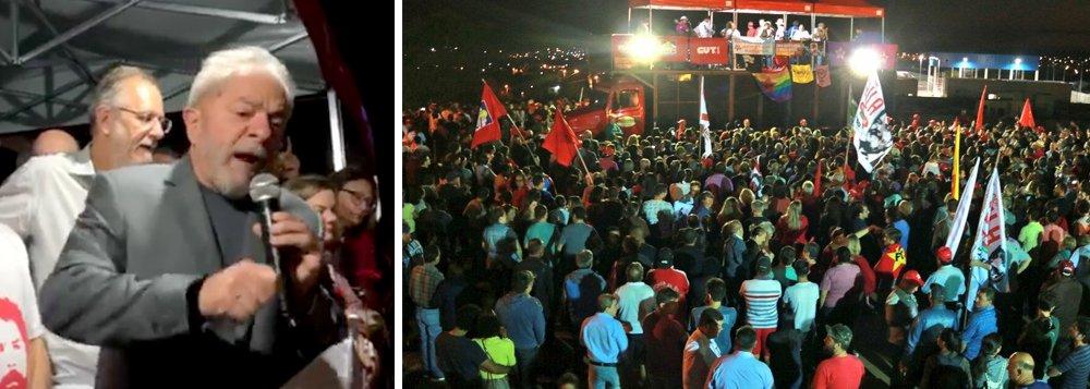 Lula: em outubro vamos trazer o PT de volta para governar o Brasil